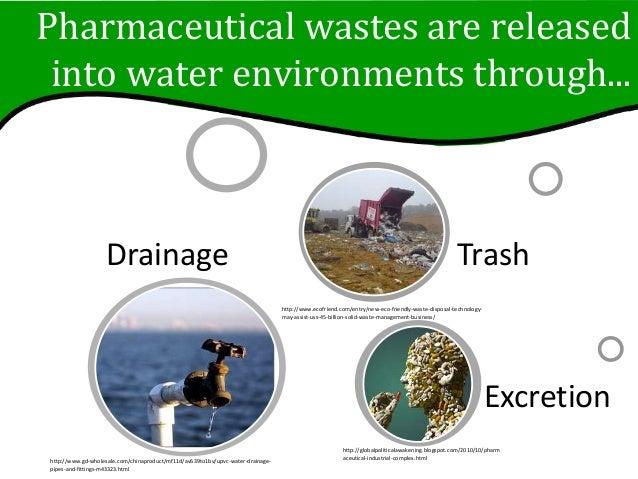 Pharmaceutical Waste Slideshow