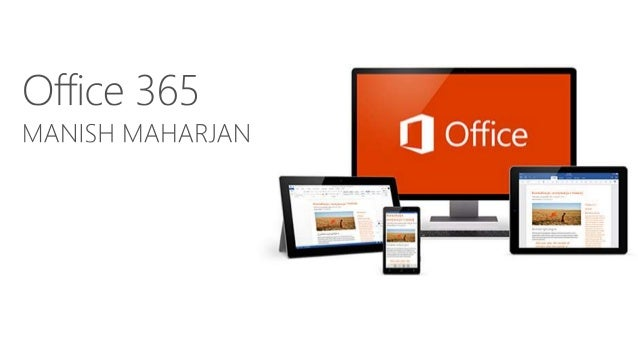Contents • What is Office 365? • Office 365 vs Office 2016 • Why Office 365? • Office 365 Apps and Features • Office 365 P...
