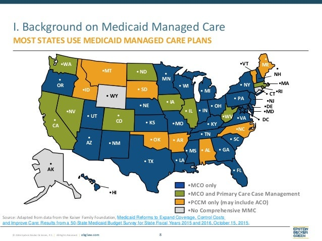 Medicaid Managed Care Final Rule