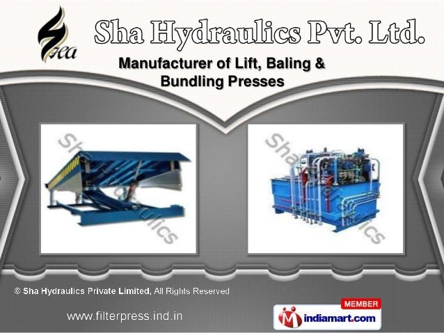Manufacturer of Lift, Baling &     Bundling Presses