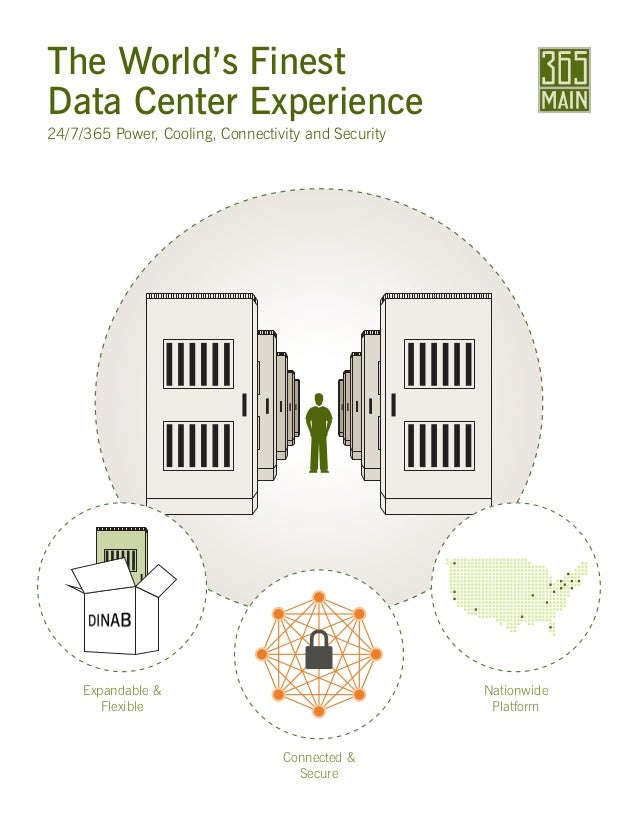 The World's Finest Data Center Experience 24/7/365 Power, Cooling, Connectivity and Security Expandable & Flexible Connect...
