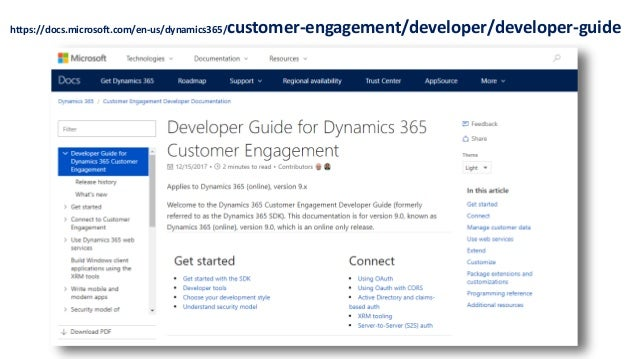Dynamics 365 Saturday - London 2018 - New Features and
