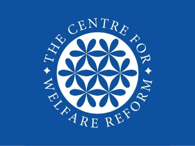Centre for Welfare Reform is a Citizen Think Tank. This means: 1. Equality - we believe every human being is equal and tha...