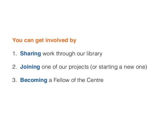 What is the Centre for Welfare Reform?