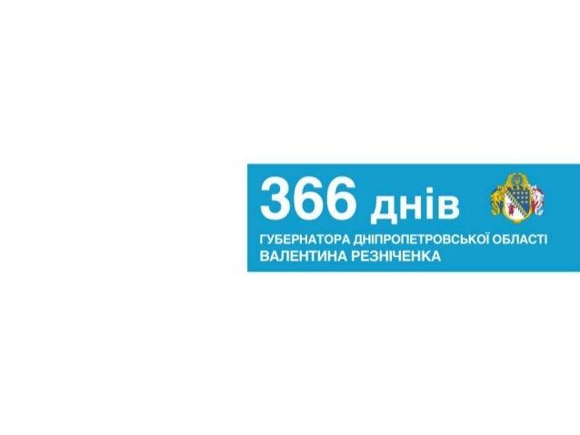 Звіт команди Валентина Резніченка про рік роботи
