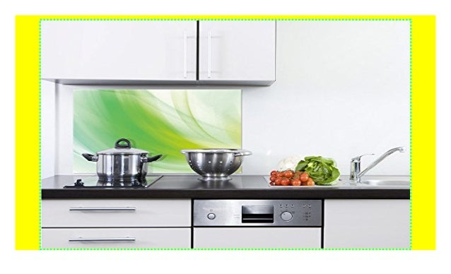 GRAZDesign 200089_80x60_SP Küchen-Spritzschutz aus Echtglas ...