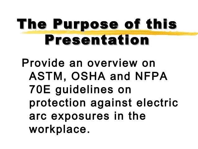 pat nfpa 70e compliance presentation