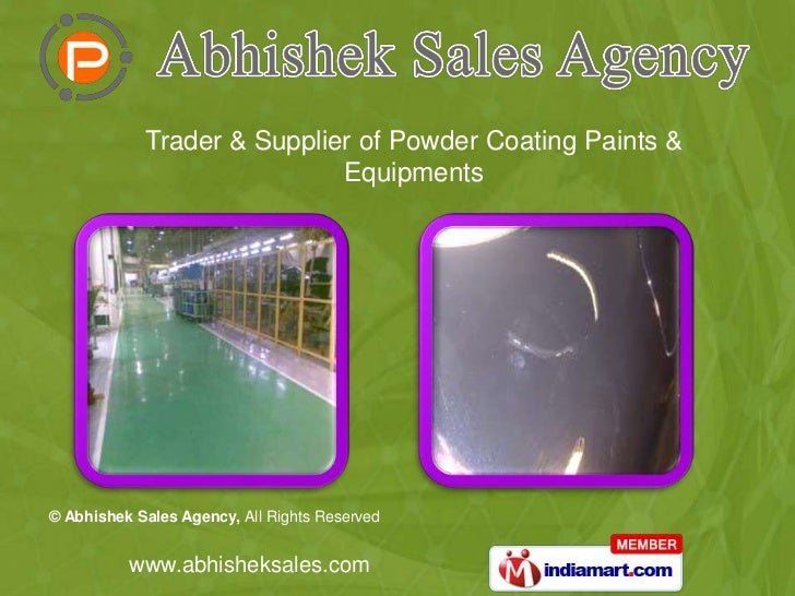 Trader & Supplier of Powder Coating Paints & Equipments<br />