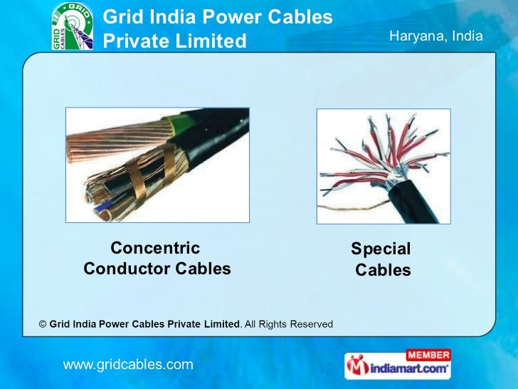 Special Cables By Grid India Power Cables Private Limited