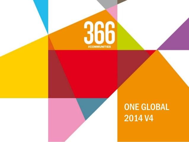 ONE GLOBAL 2014 V4