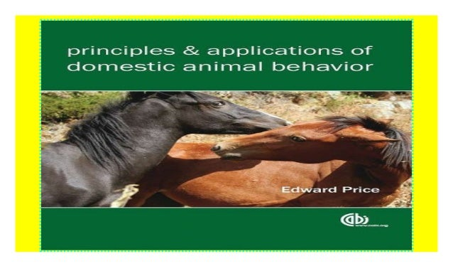 Animal Behavior Book