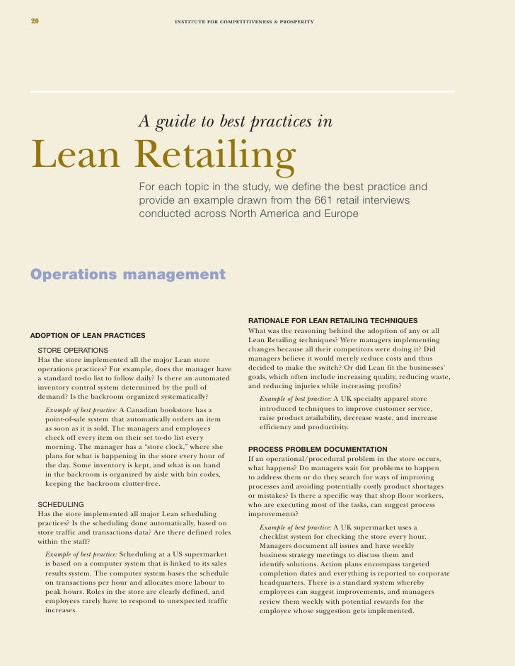 management matters in retail The retail and consumer industry in mexico  pwc | convenience matters –  serving the new mexican consumer | 1  and poor financial management by.