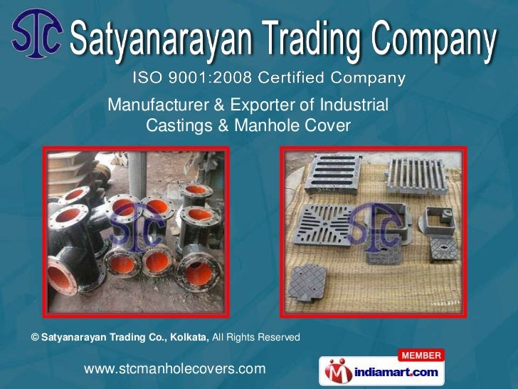 Manufacturer & Exporter of Industrial <br />Castings & Manhole Cover<br />