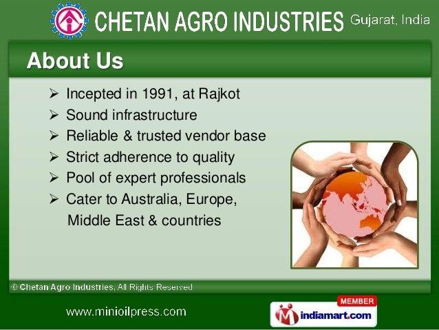 Food Processing Machines by Chetan Agro Industries, Rajkot  Slide 2