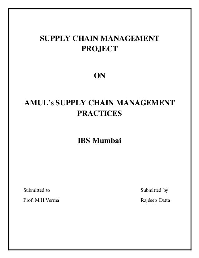 Thesis on management studies