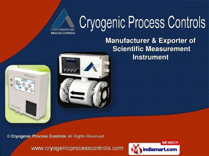 Manufacturer & Exporter of Scientific Measurement       Instrument