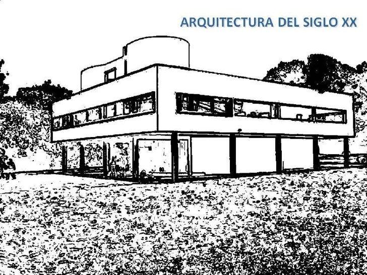 36 arquitectura del siglo xx for Arquitectura del siglo 20