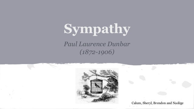 what is the theme of the poem sympathy