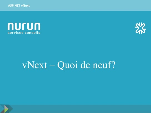 vNext – Quoi de neuf? ASP.NET vNext