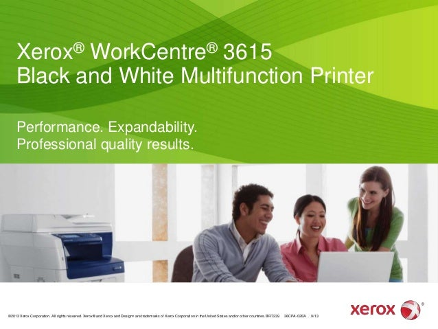 Xerox® WorkCentre® 3615 Black and White Multifunction Printer