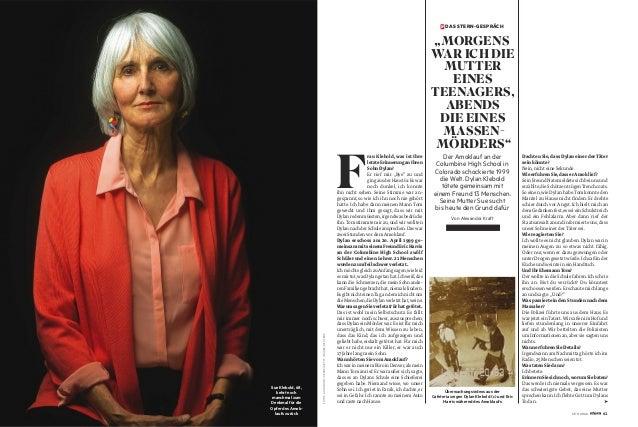 Sue Klebold, 68, kehrt noch manchmal zum Denkmal für die Opfer des Amok- laufs zurück FOTOS:AARONONTIVEROZ/GETTYIMAGES;REU...