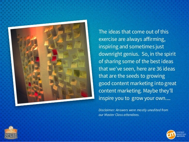 36 Ideas To Grow From Good To Great Content Marketing Slide 3