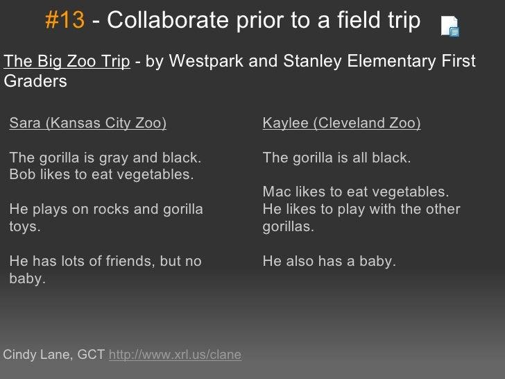 #13-CollaboratepriortoafieldtripTheBigZooTrip-byWestparkandStanleyElementaryFirstGraders Sara(KansasCi...