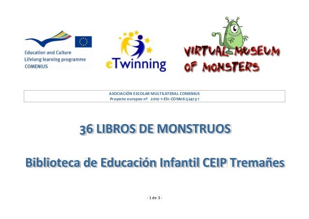 ASOCIACIÓN ESCOLAR MULTILATERAL COMENIUSProyecto europeo nº 2012-1-ES1-COM06-52413 1                  - 1 de 3 -