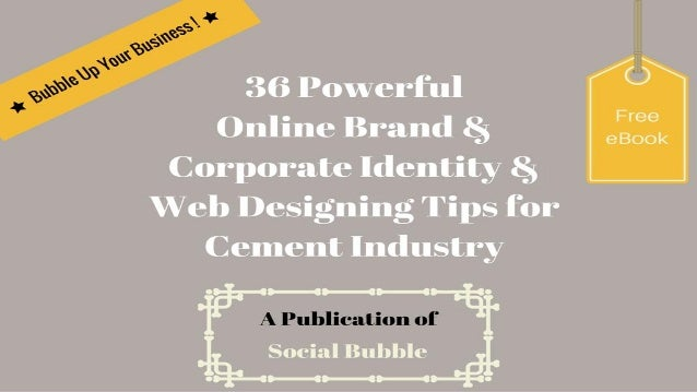 http://socialbubble.global Tip 1: Items that can be used to improve your brand identity: business cards, letterheads, enve...