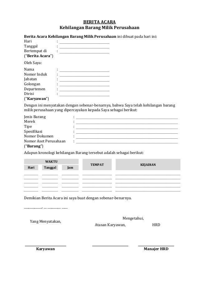 Get Contoh Surat Berita Acara Bencana Alam Pics Contohsurat Lif Co Id