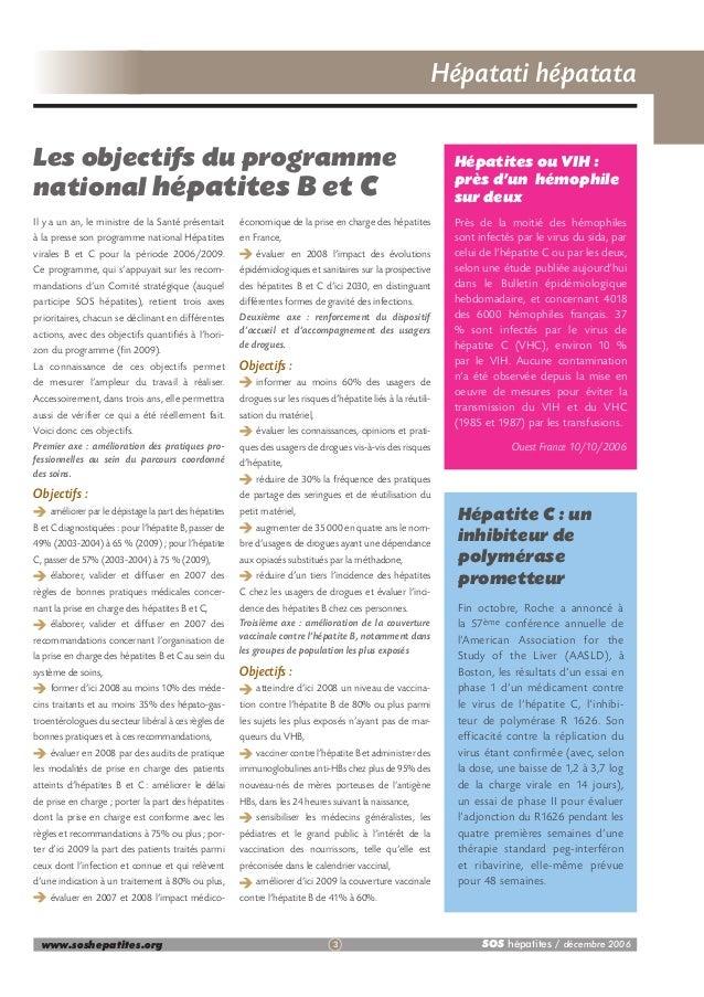 Bulletin d'informations N°37 décembre 2006 Slide 3
