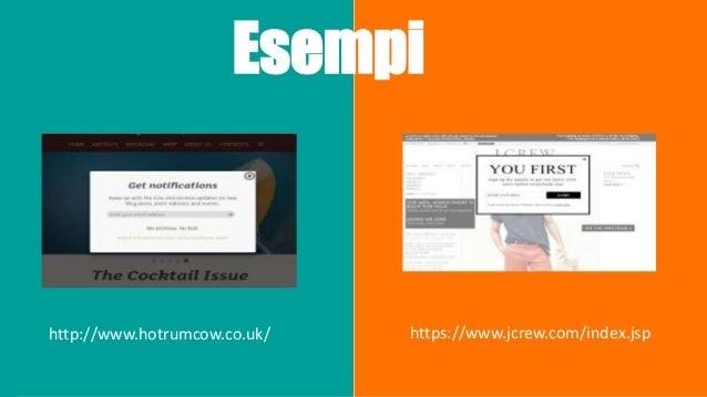 Cosa fanno gli utenti nel sito? Nei siti di Ecommerce solo il 2% degli utenti completano l'acquisto alla prima visita. Neg...