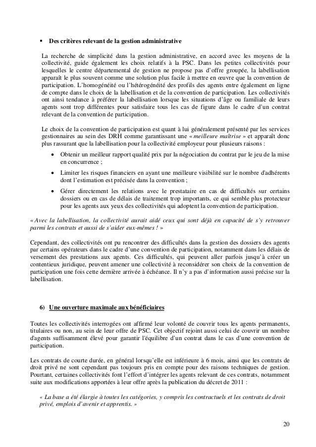 Protection Sociale Complementaire Rapport Du Conseil Superieur De L