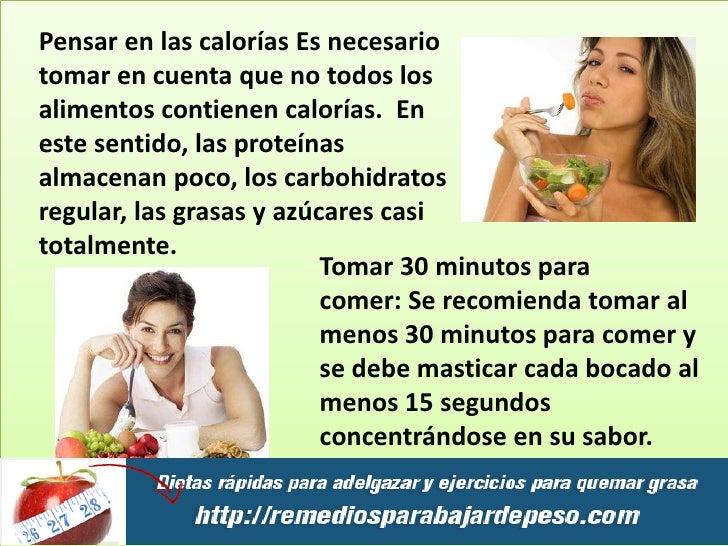 Bajar de peso en una semana mujer