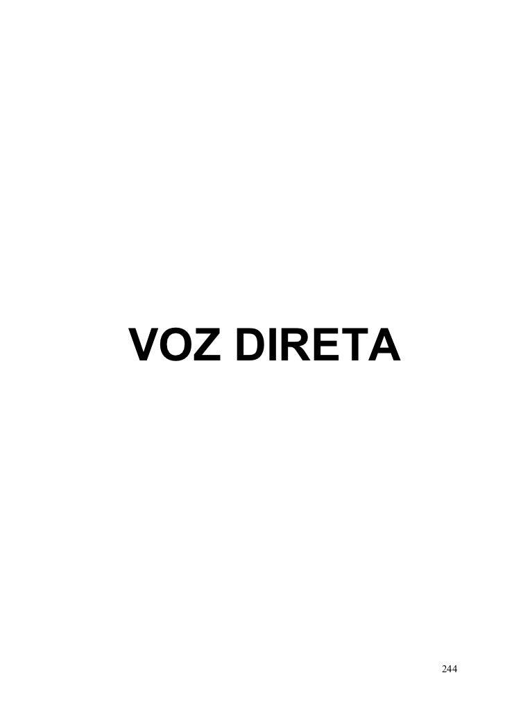 VOZ DIRETA             244