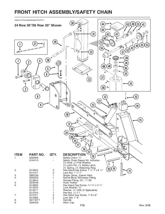 Kinze 3700 Parts Mechanical Catalog
