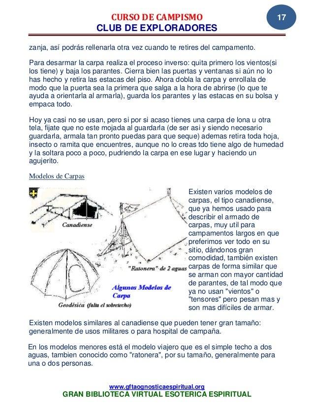 37 17 manual de campismo club de exploradores www - Pasos a seguir para construir una casa ...