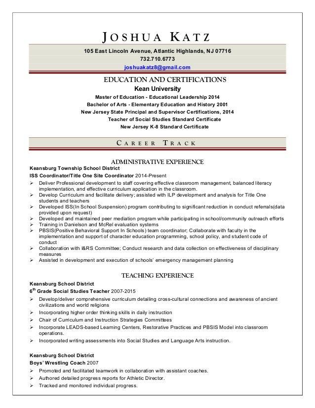 administrative resume 4