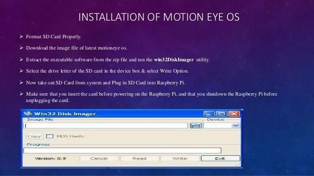 Motioneye Motion