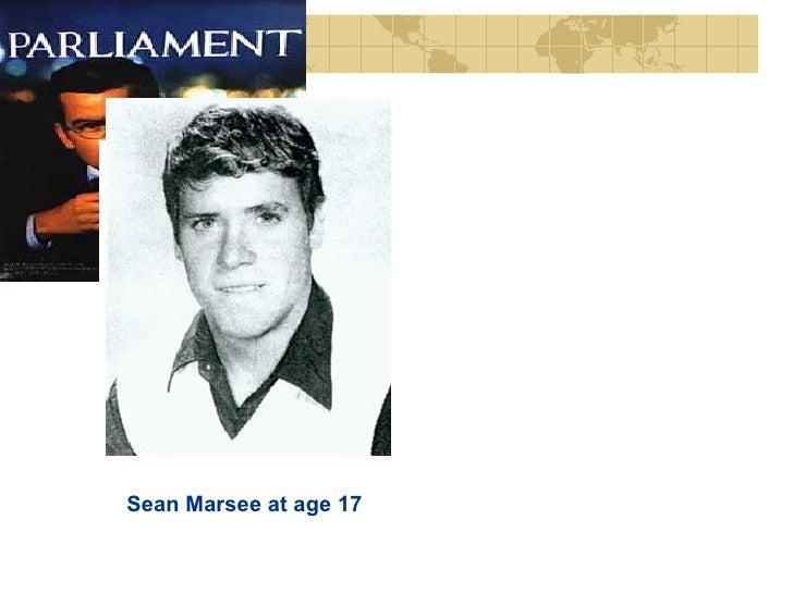 Sean Marsee at age 17