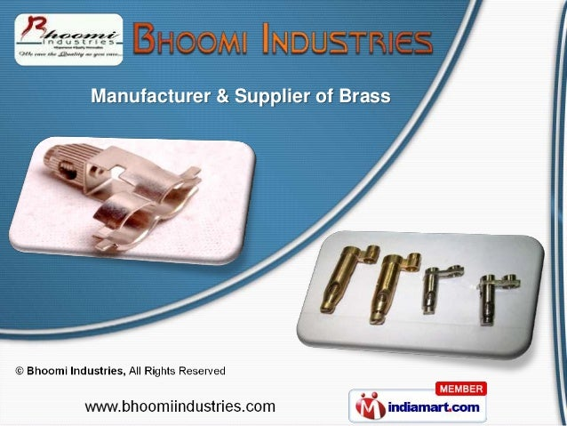 Manufacturer & Supplier of Brass