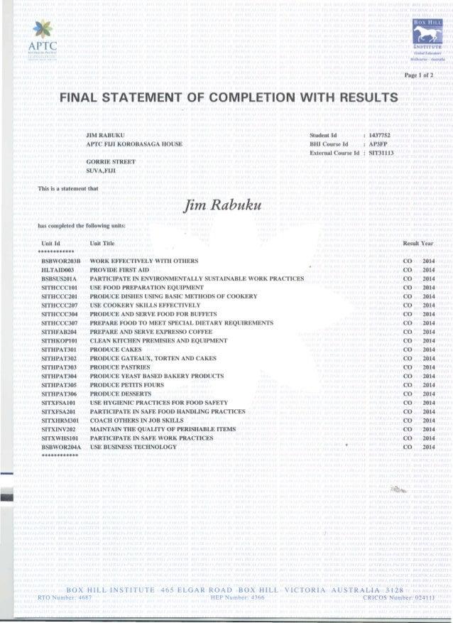 JCR - APTC Certificate Slide 2