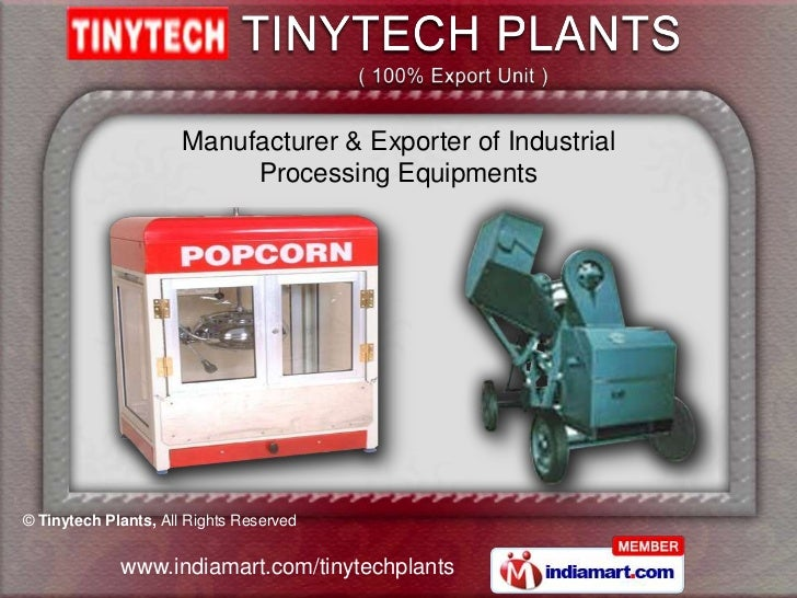 Tiny Oil Mill Machinery By Tinytech Plants Rajkot