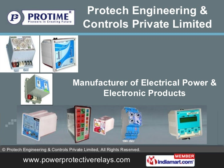 relays controllers stabilizers rectifiers  protech engineering