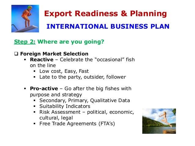 Fish export business plan