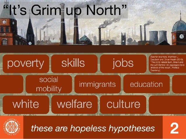 Who Turned Off the Hope: Brexit and the North