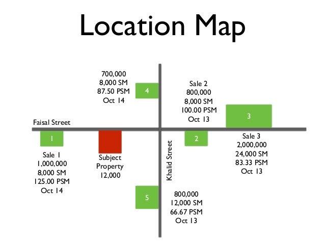 Location Map Faisal Street KhalidStreet Subject Property 12,000 1 Sale 1 1,000,000 8,000 SM 125.00 PSM Oct 14 2 Sale 2 800...