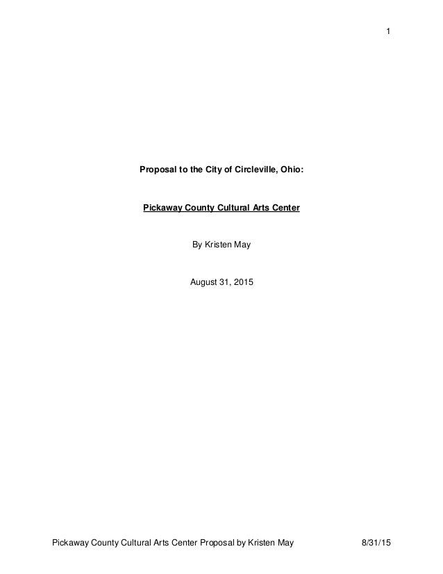 Rfp To City Of Circleville August 2015 Public Release June 2016 Pdf