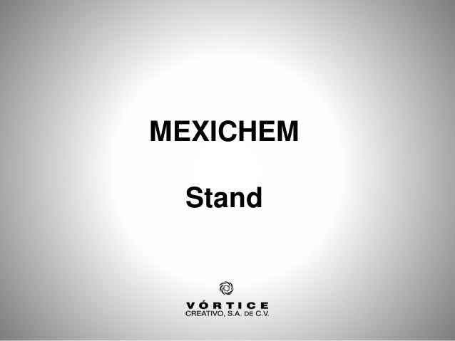 MEXICHEM Stand