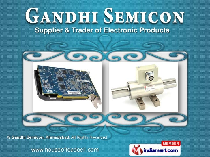Supplier & Trader of Electronic Products